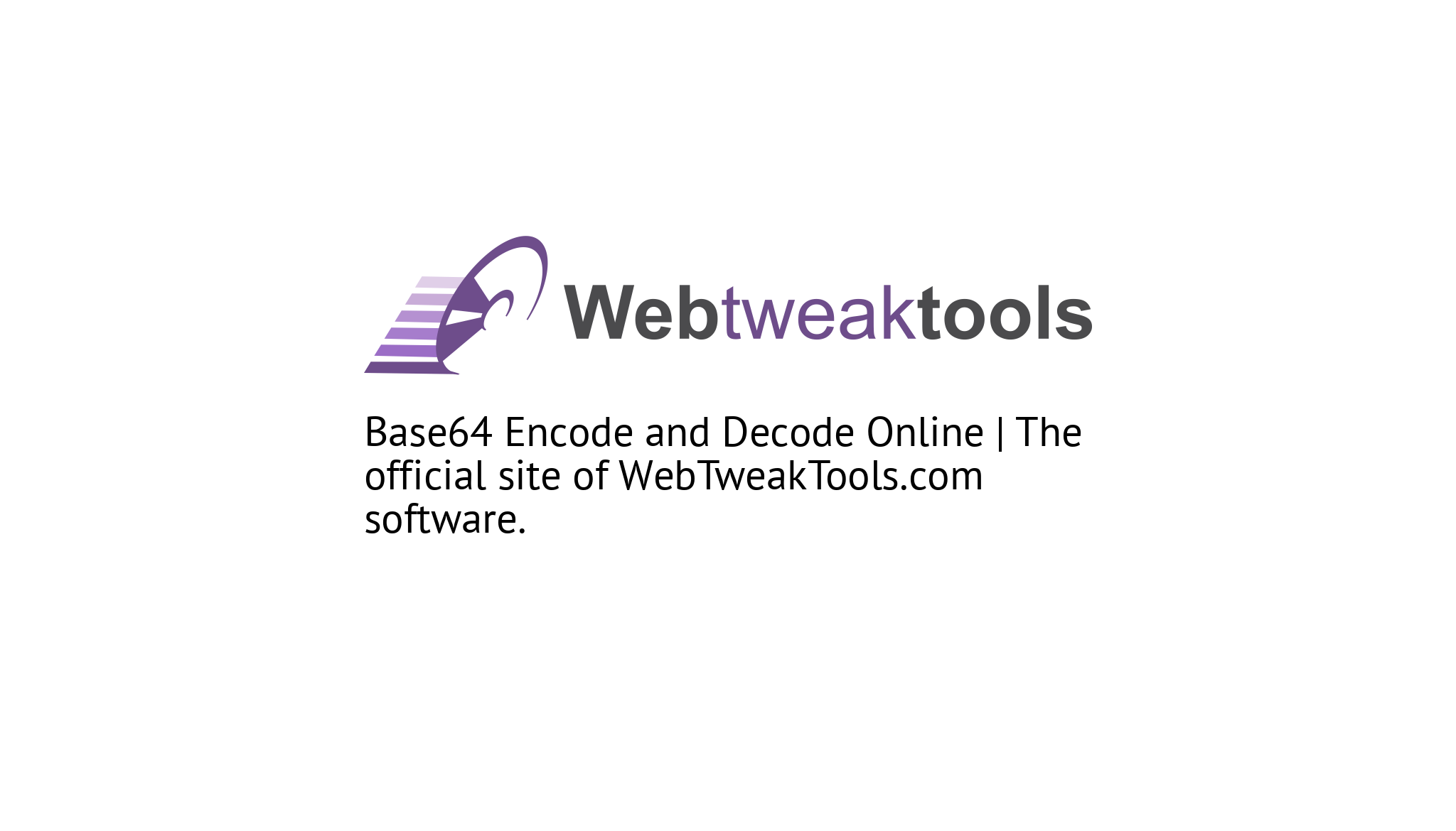 Base64 Encode and Decode Online | Services